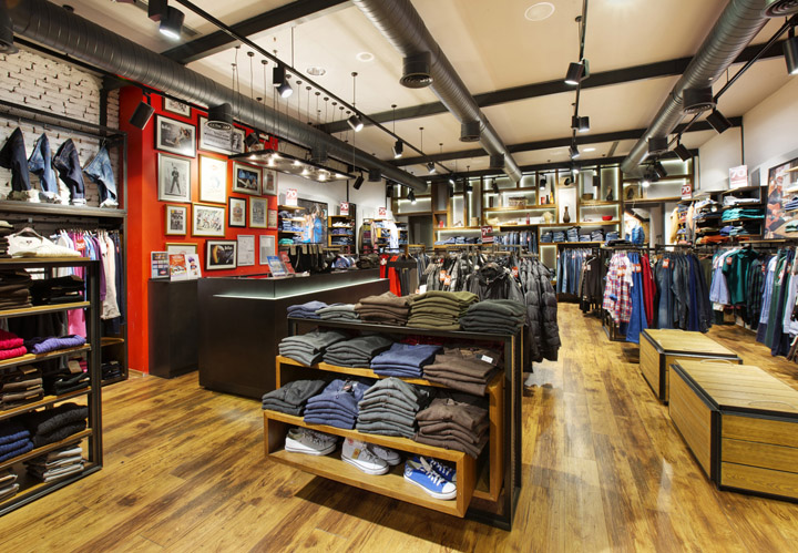 661256ae CBTE Architecture's interior design of the Lee Cooper store is the  reflection of the modern style that combined with the historical heritage  of over a ...