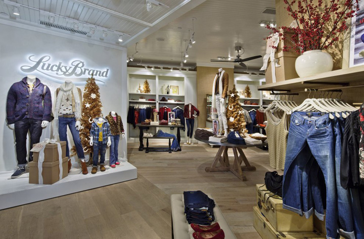 Lucky Brand Store By Michael Neumann Architecture New