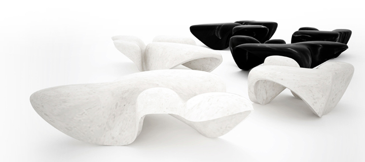 187 Marble Tables For Citco By Zaha Hadid