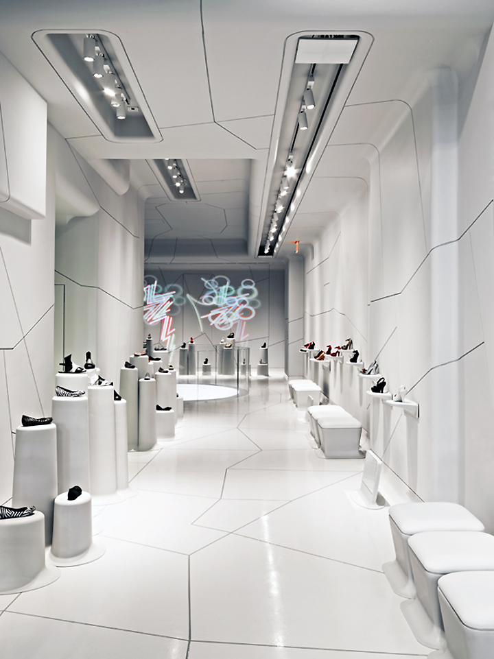 Melissa Shoes Store New York Retail Design Blog