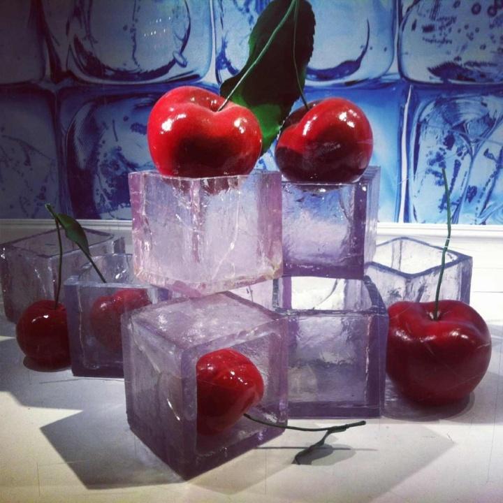 水果橱窗设计效果图