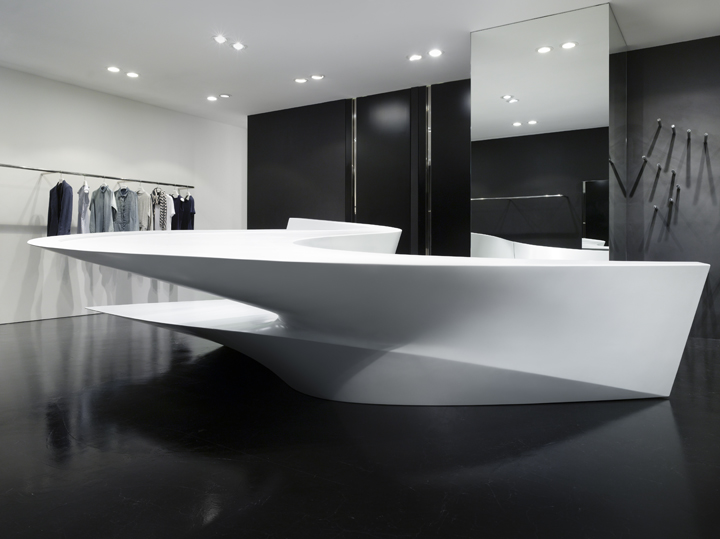 Neil Barrett Shop In Shop By Zaha Hadid Architects Seoul