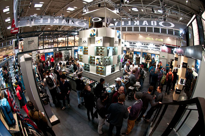 Oakley stand at ispo by green room munich for Green room retail
