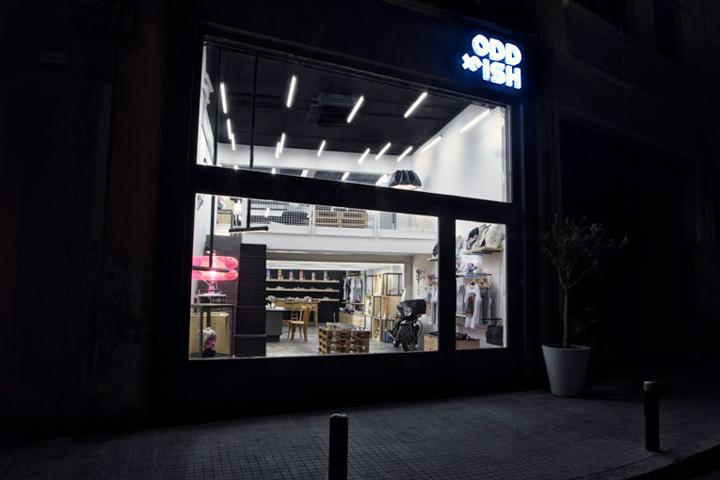 Oddfish store by Maia Aoun Beirut 04 Oddfish store by Maia Aoun, Beirut