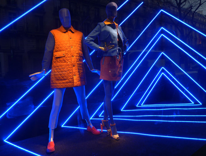 187 Printemps Color Amp Geometric Light Window Display Paris