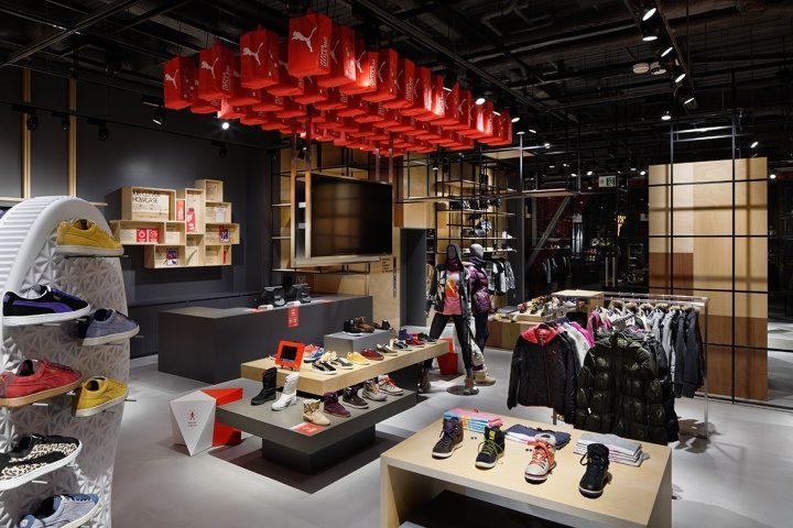 Puma premium store by Plajer & Franz Studio, Osaka – Japan
