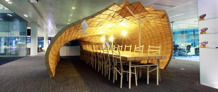 Pupa Habitat In Bloomberg Office By Lazerian London