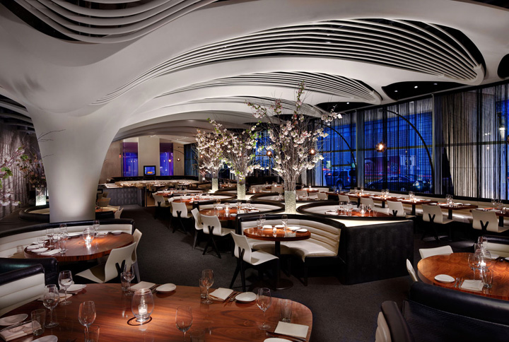 Best Restaurant Design New York : Stk midtown restaurant by icrave new york
