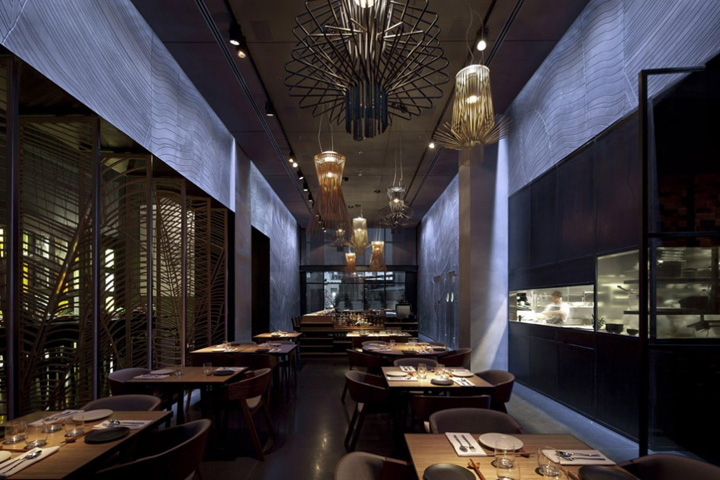 TLV restaurant Pitsou Kedem Architects Tel Aviv Taizu restaurant by Pitsou Kedem Architects, Tel Aviv