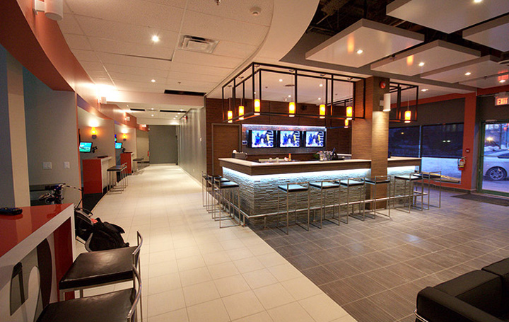 The Golf Lounge by Tony Wang Design, Toronto » Retail Design Blog