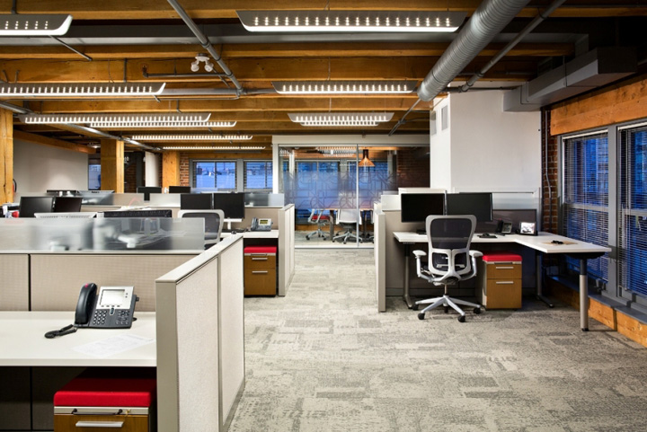 Architecture firm offices urban systems office by ashley for Interior design vancouver