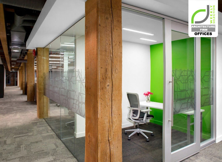Architecture Firm Offices Urban Systems Office By Ashley Pryce Interior Design Vancouver