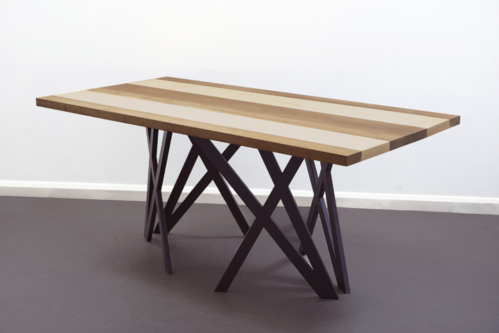 X table by christopher duffy retail design blog - Tables a manger design ...