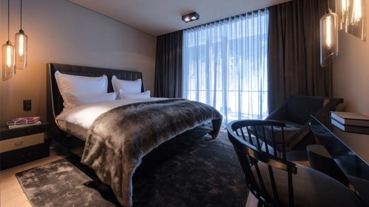 zhero hotel by j ger architektur kappl austria retail. Black Bedroom Furniture Sets. Home Design Ideas