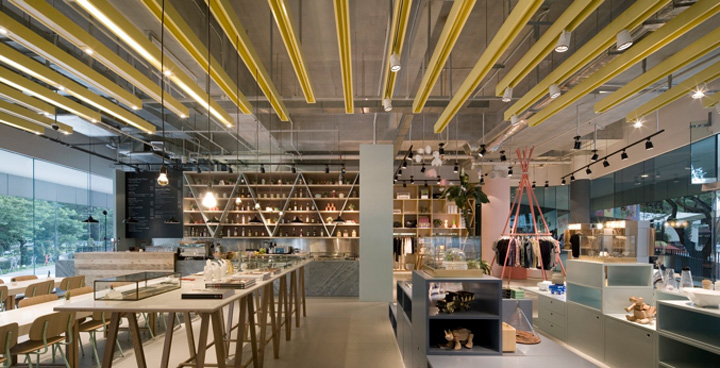 A Curious Teepee lifestyle store & café by Takenouchi Webb ...