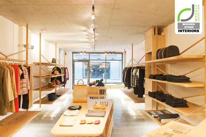 187 Wooden Store Interiors A P C Store London