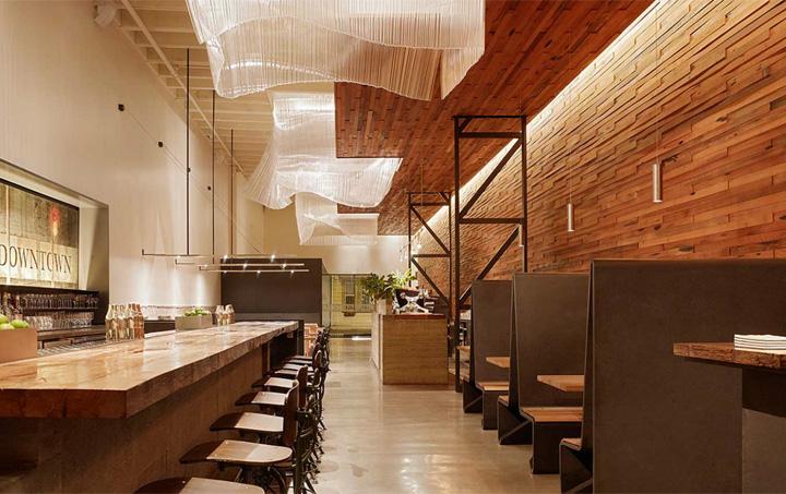 Agricole bar by aidlin darling design san francisco retail design blog - Moderne cusine ...