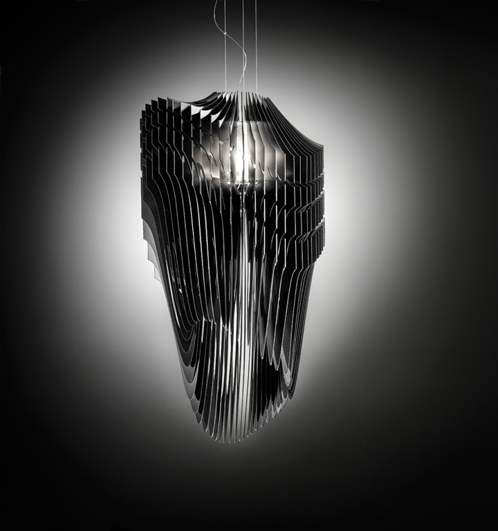avia aria lamp by zaha hadid for slamp retail design blog