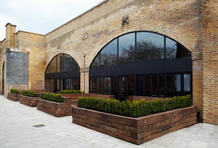 Beagle restaurant Fabled Studio C O Workshop London 04 Beagle restaurant by Fabled Studio & C O Workshop, London