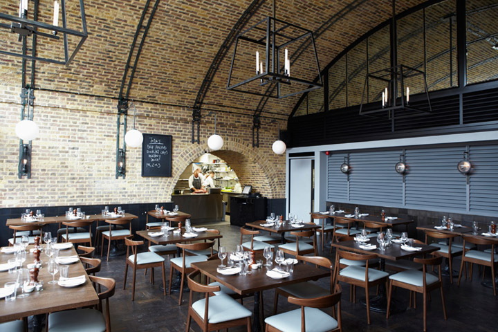 Beagle restaurant by fabled studio c o workshop london for Restaurant design london