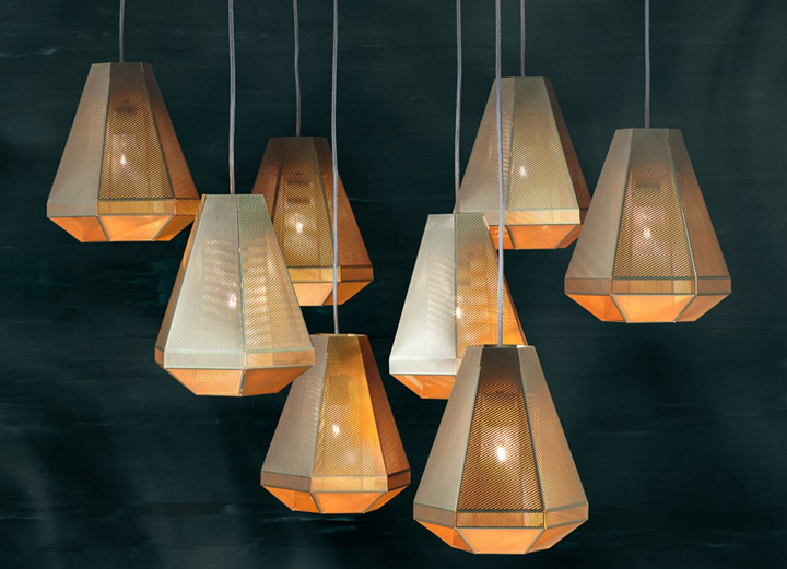 Cell tall pendant light by tom dixon retail design blog Tom dixon lighting