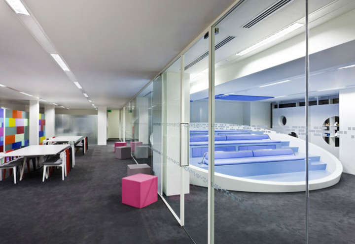 Engine innovation labs by jump studios london retail for Innovation lab