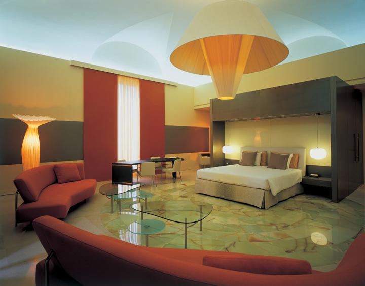 Exedra hotel by studio marco piva rome retail design blog for Hotel design rome