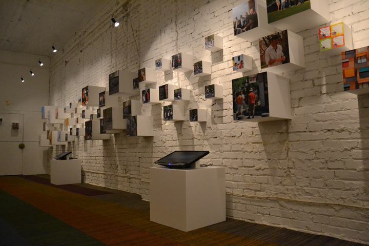 Exhibition Booth Installation : Exhibition installation by trafik kör budapest hungary