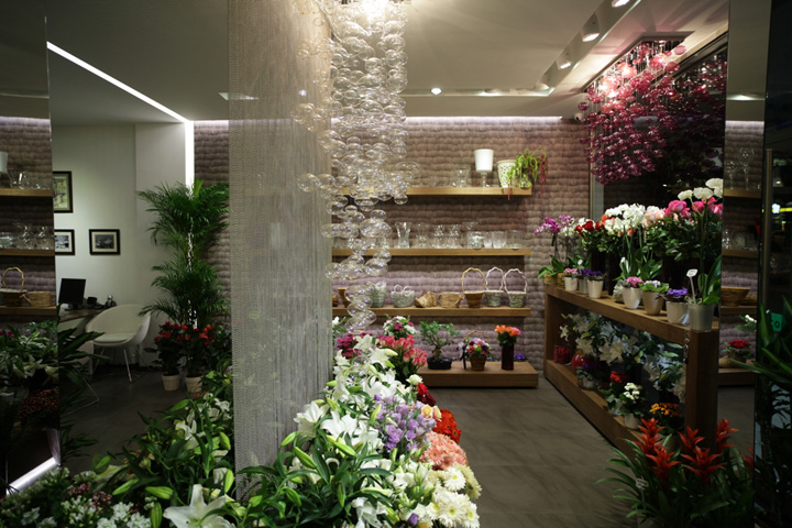 Flower Shop By Aysu EK Istanbul Retail Design Blog