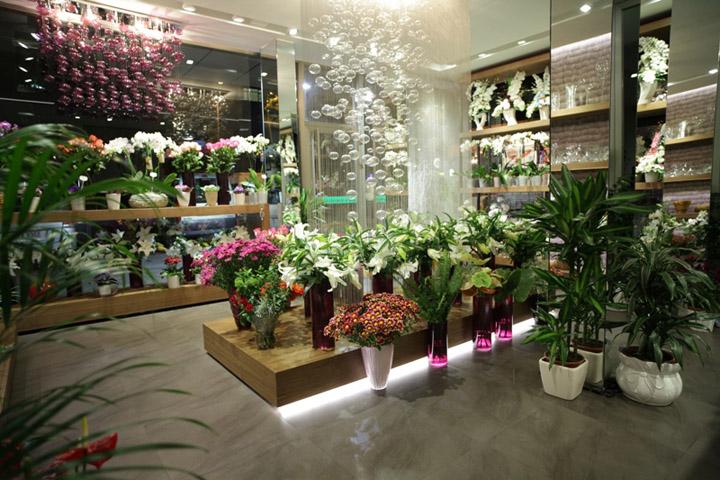 Flower shop by Aysu EK Istanbul Retail Design Blog