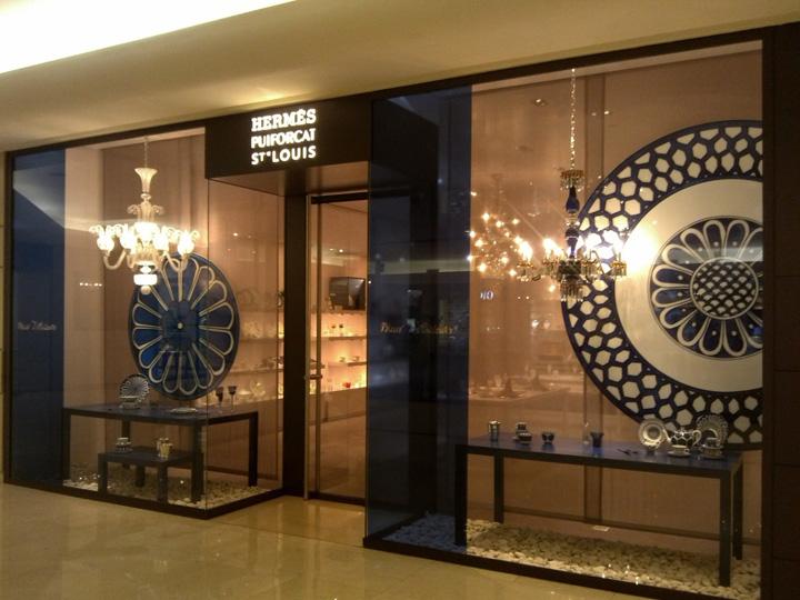 187 Hermes Puiforcat Saint Louis Window Display Jakarta