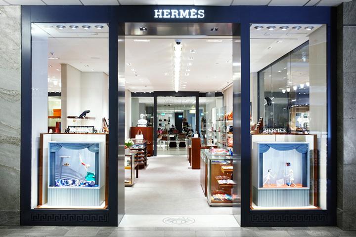 Hermès shop-in-shop at Nordiska Kompaniet by RDAI, Stockholm 953d2e2a101