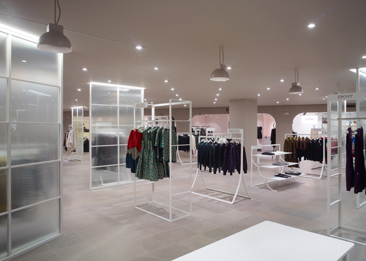 Department store retail design blog for Interior design department