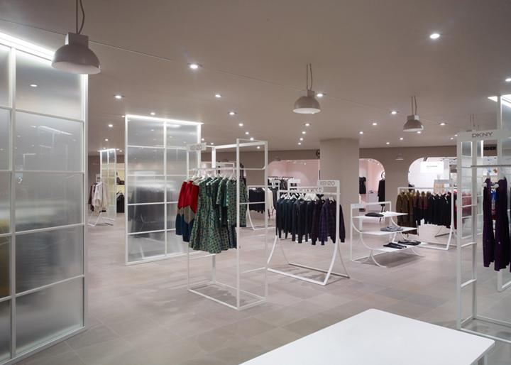 la rinascente department store by nendo milan