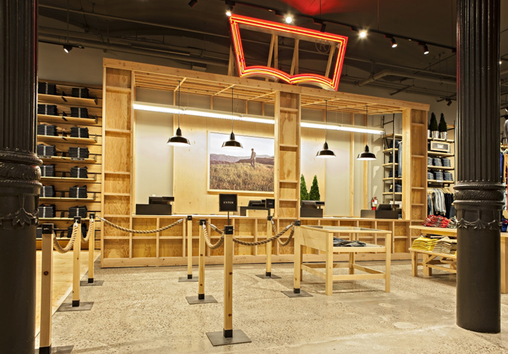 best service 0b444 55786 Levis store by MBH Architects New York 10