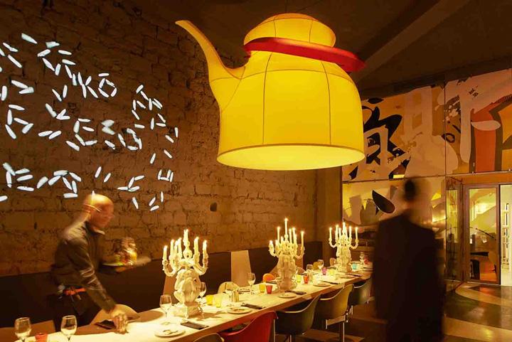 Miss k restaurant by philippe starck paris retail - Maison et objet villepinte ...