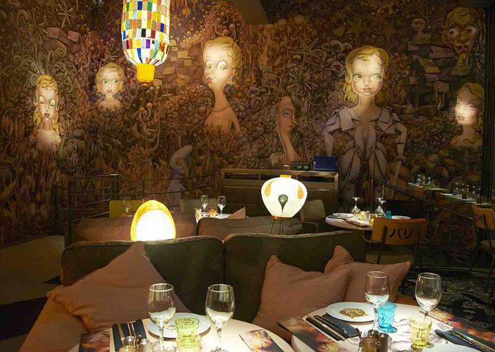 Miss kō restaurant by philippe starck paris retail