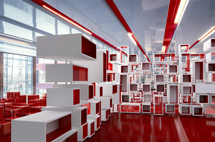 offices ogilvy. Stephane Malka Architecture Was Commissioned By Ogilvy Offices Ogilvy L