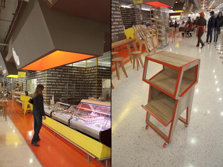 Groceries paniqueso store by oficina informal bogot for Oficina xiaomi bogota