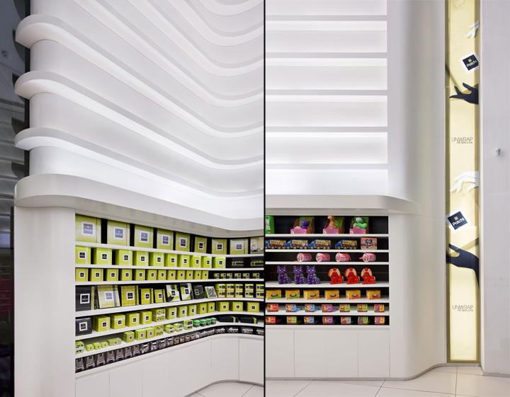 Groceries patchi store by lautrefabrique architectes for Office design hamra