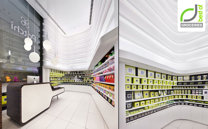 Groceries Patchi Store By Lautrefabrique Architectes Beirut Lebanon Retail Design Blog