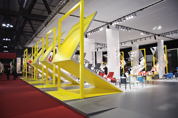 Best Stands Expo Milan : Pedrali mirror stand by migliore servetto architects
