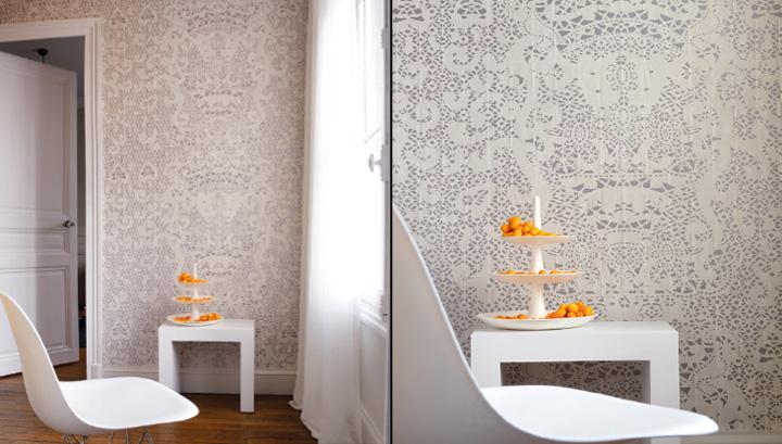 Pleats wallpaper by litis retail design blog - Papeles pintados originales ...
