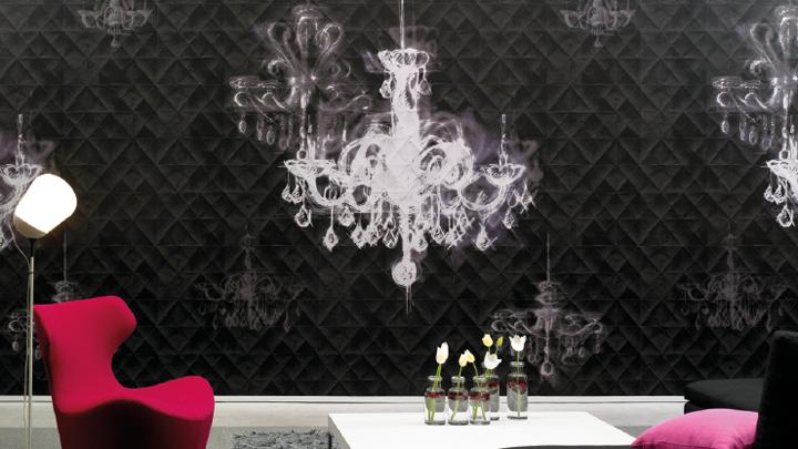 Pleats wallpaper by litis retail design blog for Wallpaper retailers