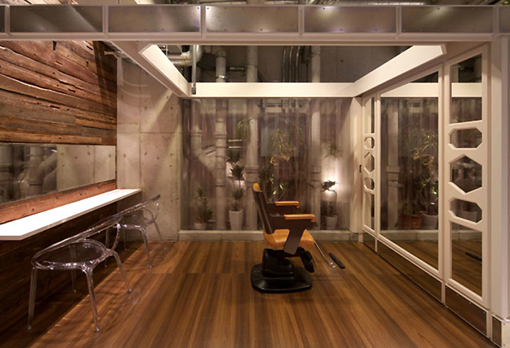 187 Primula Hair Salon By Inly Design Naruo Japan