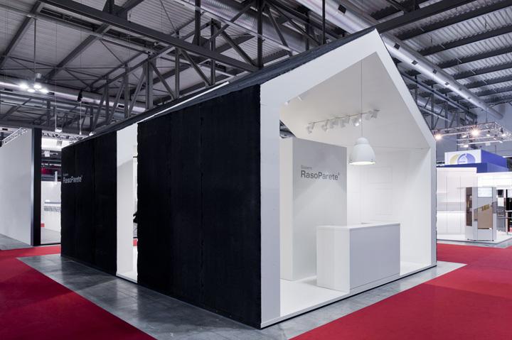 Expo Milan Stands : Sistemi rasoparete stand by vannini cesaretti milan