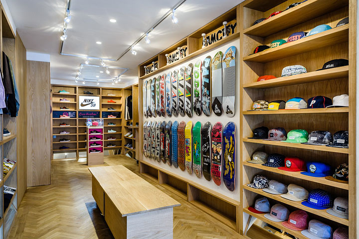 Skateboards 187 Retail Design Blog
