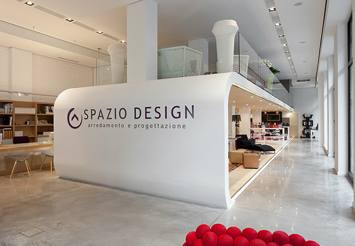 Spazio Design Showroom By Zero Architetti Milano Retail Design Blog
