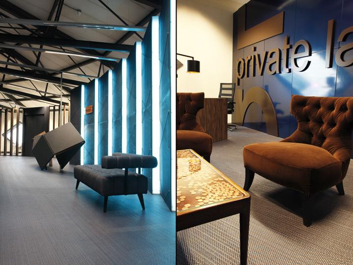 Sugarcity Showrooms Office By Vanbrussel Halfweg Netherlands