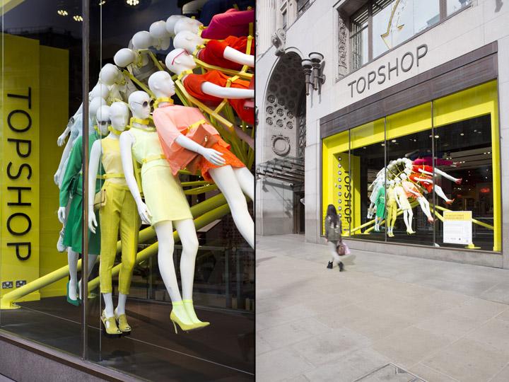 187 Topshop Windows By Neon Architects Amp Studioxag London